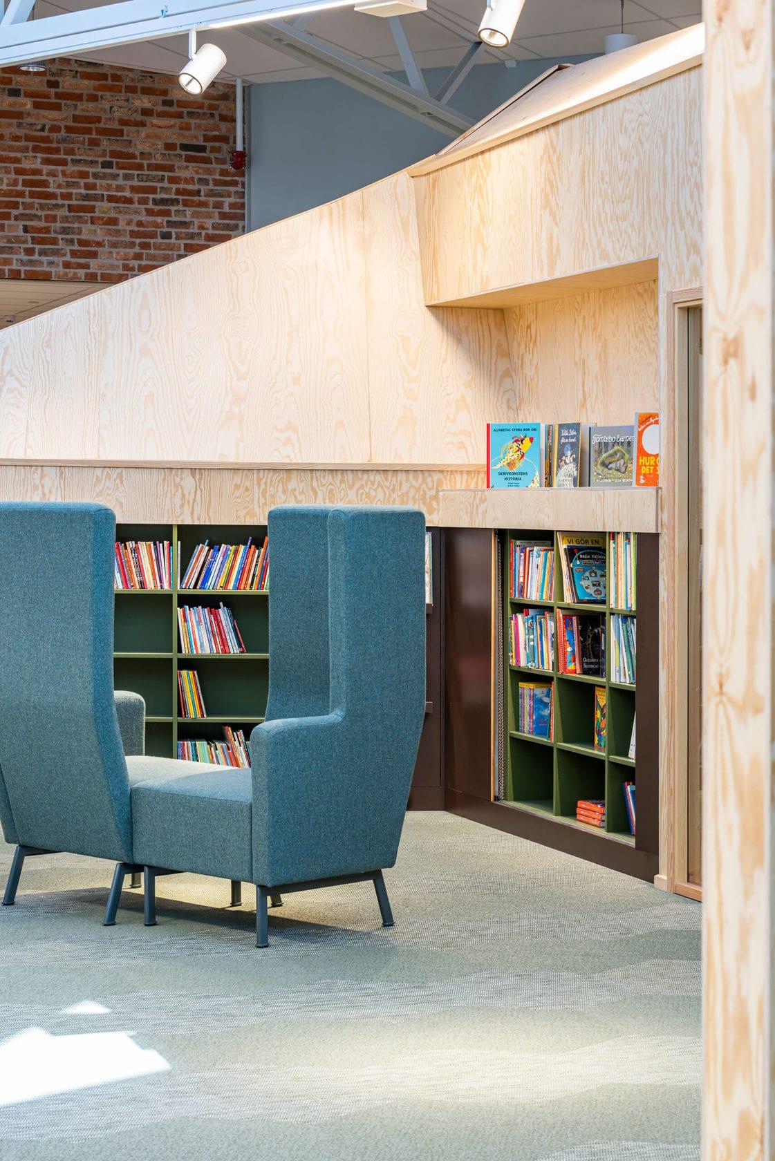 Hagaskolan - Bibliotek